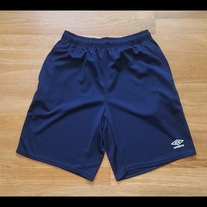 UMBRO SOCCER SHORTS MEDIUM M FUTBOL ITALIA HTF